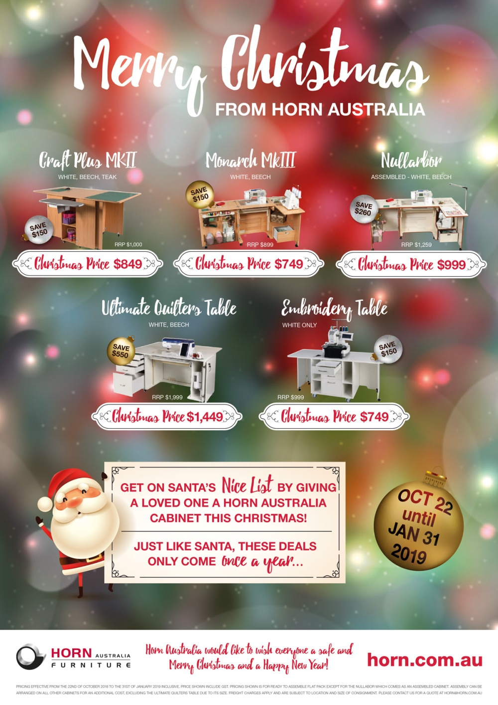 9077-Horn-Christmas-2018-Poster