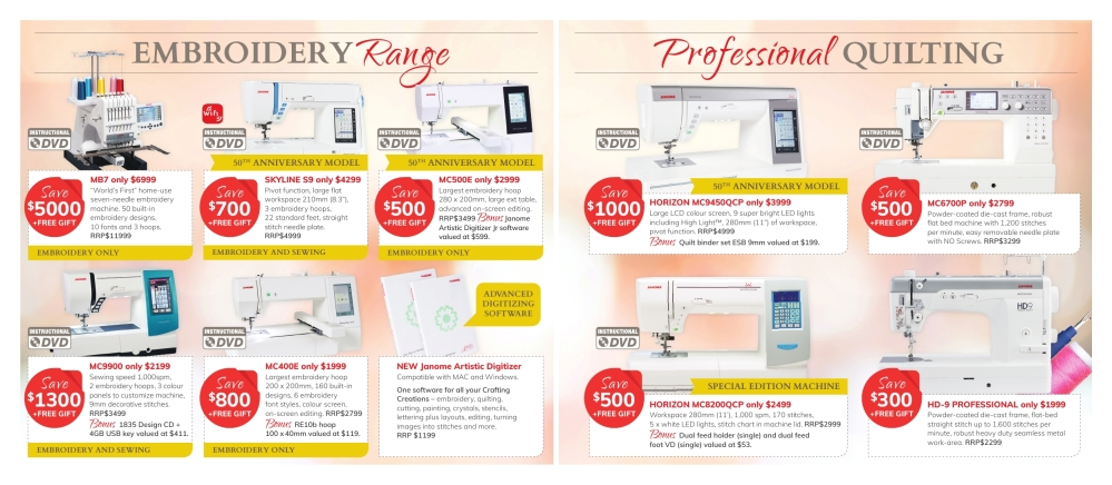 Clearance Sale Mailer May 2019 2