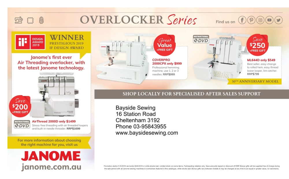 Clearance Sale Mailer May 2019 4